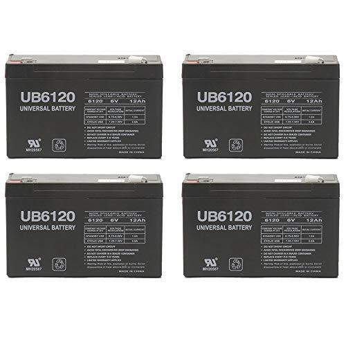 - Universal Power Group 6V 12AH F2 Battery TRIPP LITE OMNISMART 1050-4 Pack