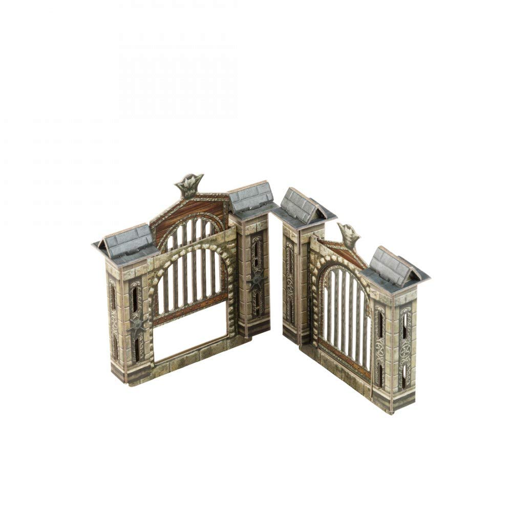 Lifting Gates 32 pcs Clever Paper 527 UMBUM Innovative 3D-Puzzles Dungeon