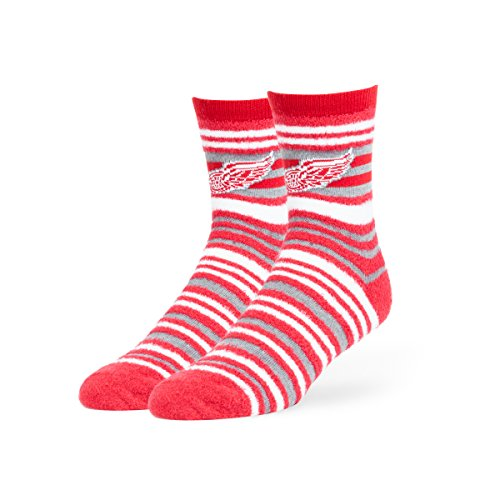 fan products of NHL Detroit Red Wings Shiloh Chenille Half Crew Socks, Medium, Red