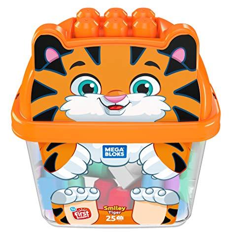 Mega Bloks GCT48 Smiley Tiger, Multicolor