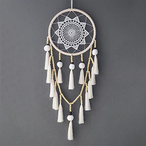 Artilady Macrame Dream Catchers for Bedroom - Boho Wall Hanging Handmade Woven Dream Catcher for Home Decor Ornament Craft Gift