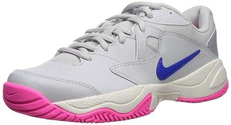 Nike Court Lite 2 Gris Rosa Mujer AR8838 001: Amazon.es: Deportes ...