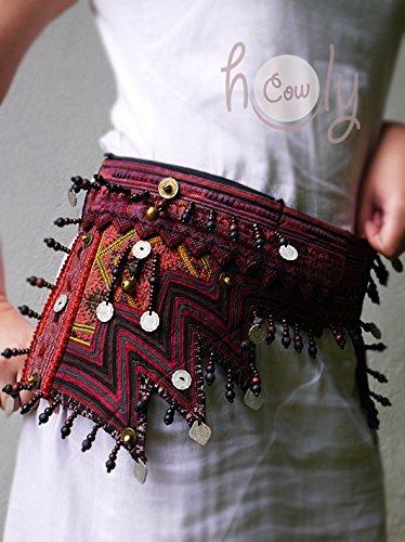 Handmade Tribal Hippie Belt Bag by Thai Holy Cow