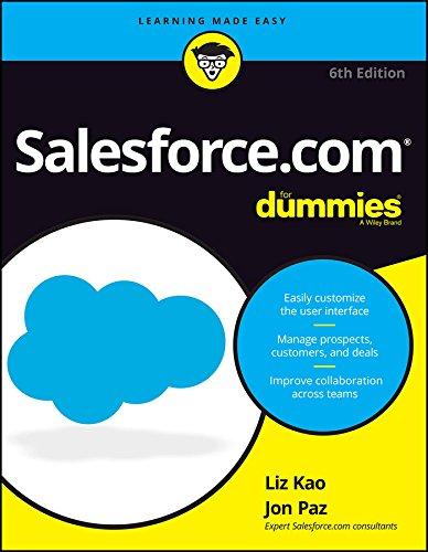 Salesforce.com For Dummies, 6ed