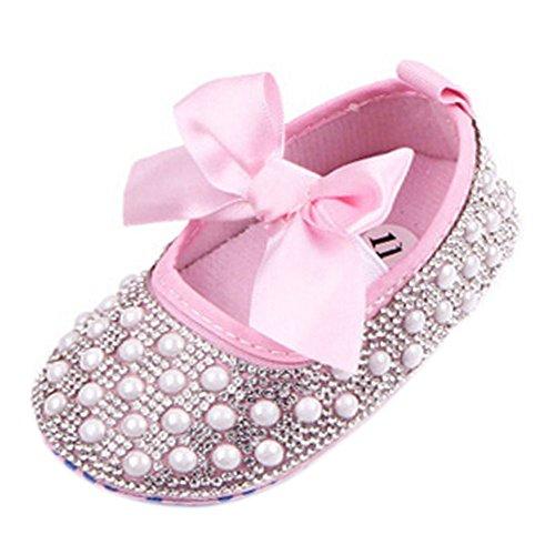 infant pink dress shoes - 9