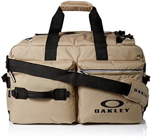 Oakley Utility Big Duffle Bag - Backpack with Zippered Pockets and Shoulder Strap