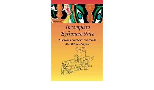 INCOMPLETO REFRANERO NICA :
