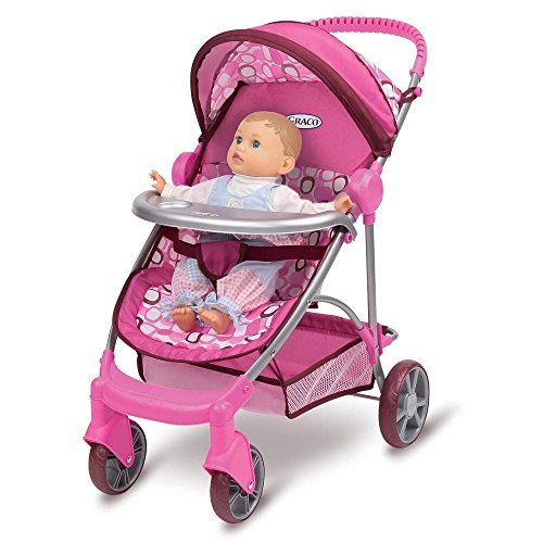 Graco Baby Doll Stroller Toy - 9