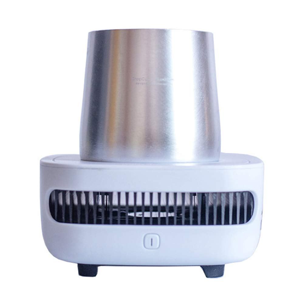 Summer rapid cooling cup machine cooling cup cold water bottle keep cold cup-Silver
