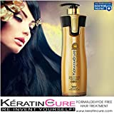 Keratin Cure 0% Formaldehyde Gold & Honey Bio-Brazilian Professional Hair Treatment 960 ML /32.5 FL OZ -KERATINA BRASILERA TRATAMIENTO QUERATINA PELO LISO CREAMY FORMULA