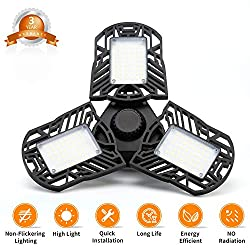 INSTALLTION : 1.Screwing the lights into the E26 base/holder. (Do not make OVERTIGHTEN, Avoid make damage to the lamp base.) 2. Adjust suitable lighting angle, by moving the AL led head. SAFETY USEING: INDOOR USE ONL...