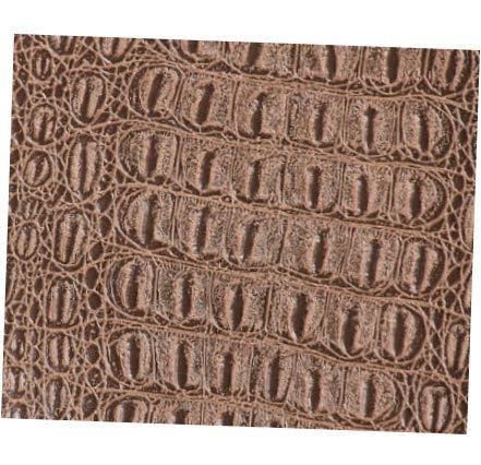 Fabric Buckskin Gator Faux Leather Fabric by The Yard - 54