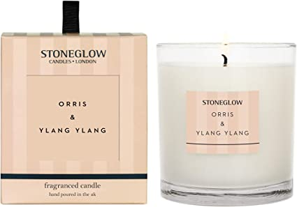 Stoneglow Candles Scented Tumbler Candle Gift Box ORRIS AND YLANG YLANG