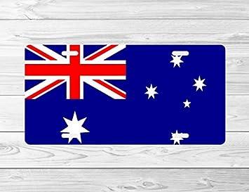 """Australian Flag license plate 12/"""" x 6/"""""""
