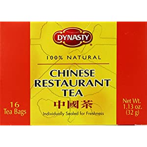 Dynasty Tea, Chinese Rest Style, 16-Count Packages (Pack of 12)