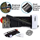 Tactical Tourniquet – Ultra Strong Combat Tourniquet with Metal Friction Adapter Buckle & Aluminum Windlass for SWAT, Military, Police & Civilians. Fits TQ Holder, Duty Belt & Medical First Aid Kit