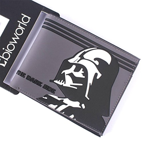 Accessories Boxed Sith (Superheroes Star Wars Sith Darth Vader Bi-fold Men's Boys Wallet Gift Boxed)