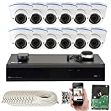 GW Security 5.0 Megapixel 1920p/1536p/1080p 16 Channel NVR Network Security Waterproof 12 Dome Camera System with 2.8 – 12mm Varifocal Zoom Review