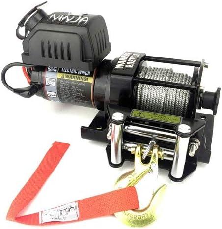 ATV,Utility,Trailer,Boat,New Warrior Ninja 2000lb 12v Electric Winch,Steel Rope