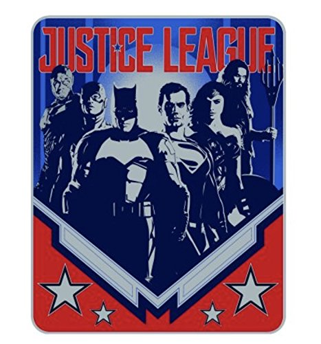 Justice League Movie ''Justice League Heroes Silk Touch Throw Blanket