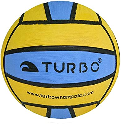 Turbo - Mini balón de Waterpolo, Color Amarillo y Azul: Amazon.es ...