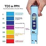 Pancellent-Misuratore-della-qualita-dellAcqua-TDS-PH-2-in-1-Set-0-9990-Intervallo-di-misurazione-PPM-1-Risoluzione-PPM-Precisione-di-Lettura-2-Giallo