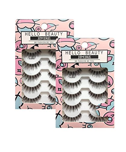 JIMIRE HELLO BEAUTY Multipack Demi Wispies Fake Eyelashes 2 Pack by JIMIRE
