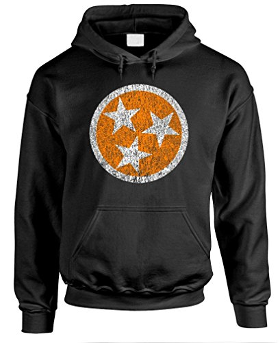 (The Goozler Volunteer State - Tennessee tn USA America - Mens Pullover Hoodie, L, Black)