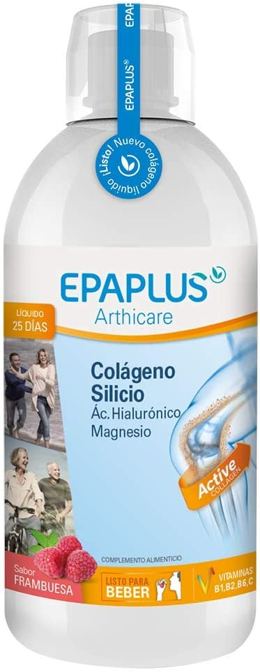 Epaplus Articulaciones Colágeno + Silicio+ Ácido Hialurónico ...
