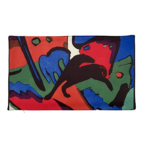 Franz Marc and Wassily Kandinsky, The Blue Rider - Rectangular Pillow Case only - Wassily Kandinsky The Blue Rider