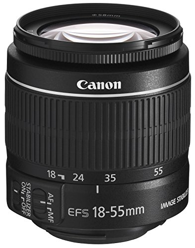 Canon EF-S 18-55mm f/3.5-5.6 IS II SLR Lens - Mark II (White Box) from Canon