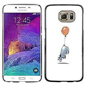 Impact Case Cover with Art Pattern Designs FOR Samsung Galaxy S6 Minimalist Cartoon Kids Betty shop