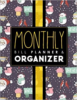 buy monthly bill planner organizer bill pay ledger home budget