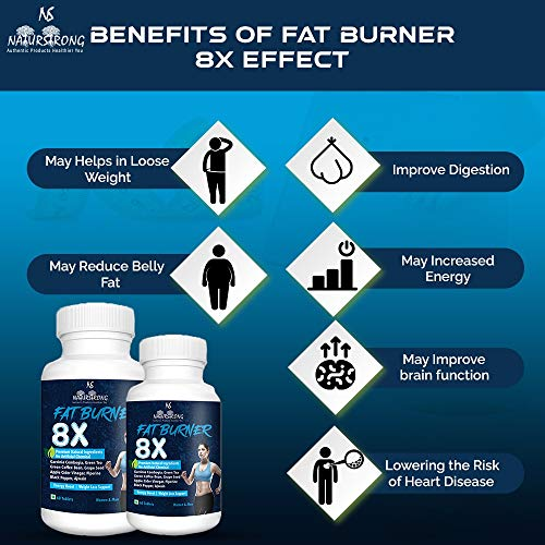 Naturstrong Fat Burner 8x 100 Natural Supplements For Weight Loss