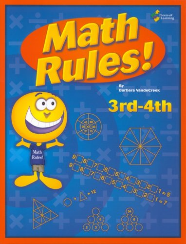 Math rules!: 3rd-4th grade 25 week enrichment challenge *Now includes PDF of Book*