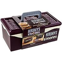 Hershey 01211HSY S'mores Caddy, caja de malvaviscos con bandeja, color café