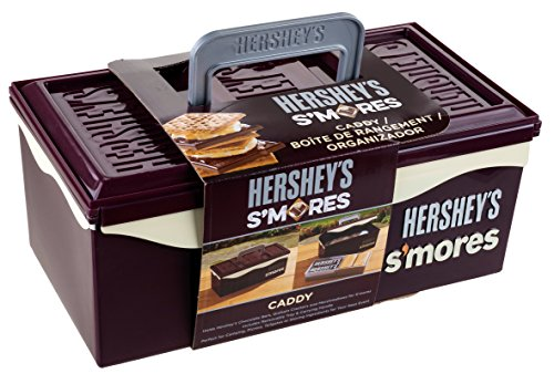 Hershey's 01211HSY S'mores Caddy with Tray, Brown (Online Bar Accessories Shopping)