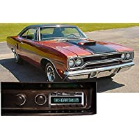 1971-1973 Plymouth Roadrunner USA-630 II High Power 300 watt AM FM Car Stereo/Radio with iPod Docking Cable