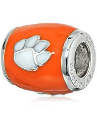 Persona Sterling Silver Clemson University Beads and Charms