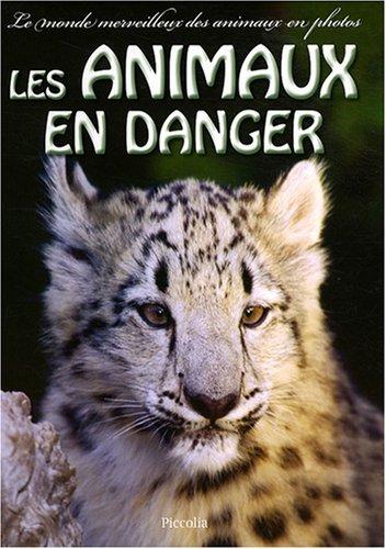 Amazon Fr Les Animaux En Danger Valenza Brandi Livres