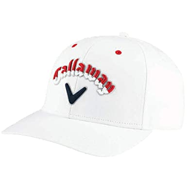Callaway Golf 2018 Usa Ryder Cup High Crown Performance Hat Logo At