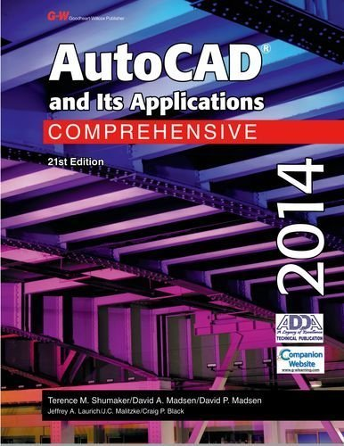 Download AutoCAD and Its Applications Comprehensive 2014 Twenty 1st (first) by Shumaker, Terence M., Madsen, David A., Madsen, David P., La (2013) Hardcover pdf epub