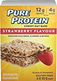Pure Protein Strawberry Flavour Chewy Oat Bar 6 Count