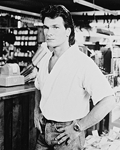 Patrick Swayze Roadhouse In Bar Canvas Giclee