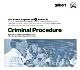 Criminal Procedure, 2005 ed. (Law School Legends Audio Series), Whitebread, Charles H., II, 0314160922