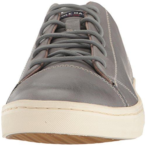 Cole Haan Hombre Trafton Lux Cap Toe Ox Ii Sneaker Sleet Handstain
