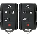 KeylessOption Keyless Entry Remote Control Car Key Fob Replacement for Tahoe Suburban M3N-32337100 (Pack of 2)