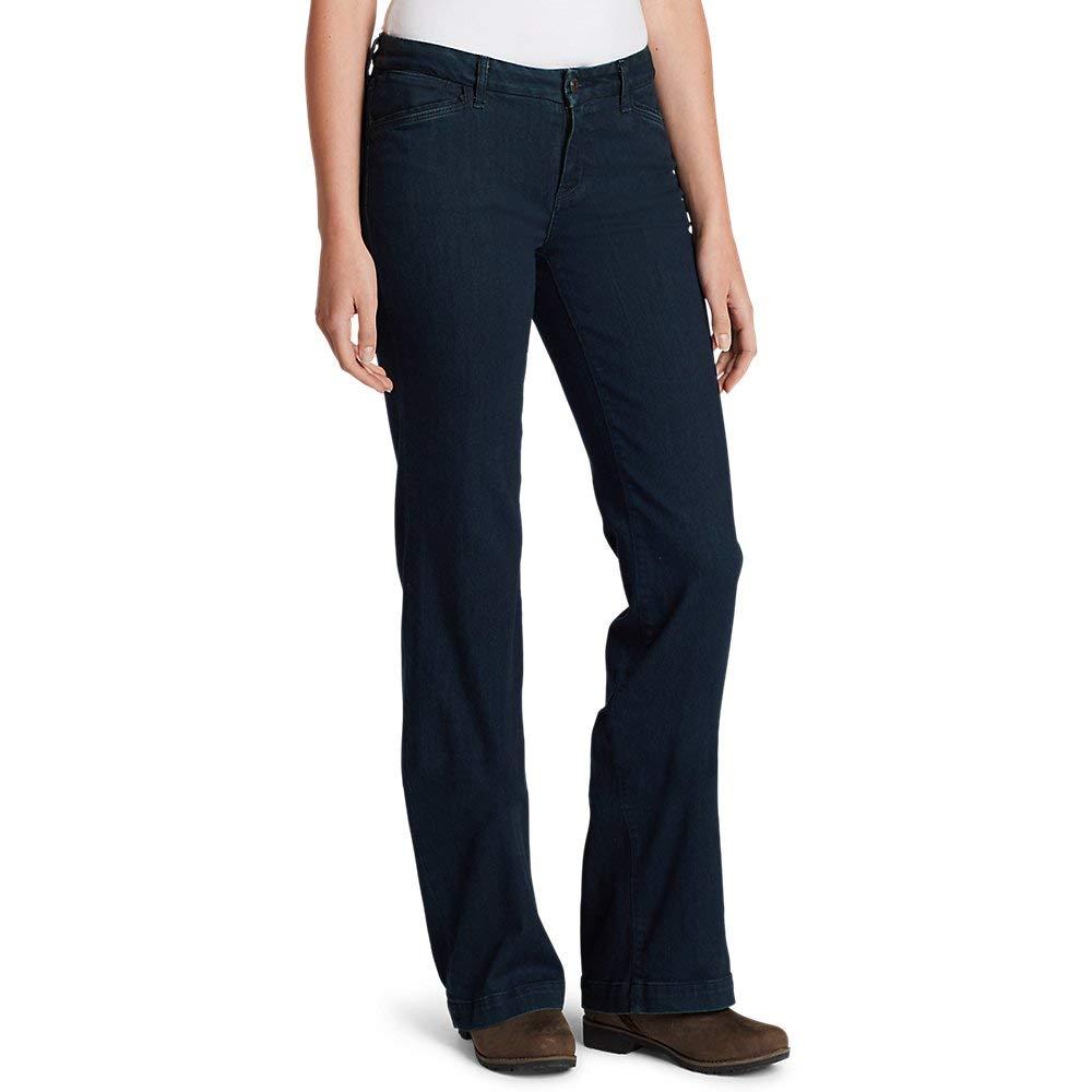 Eddie Bauer Womens Elysian Trouser Jeans Curvy
