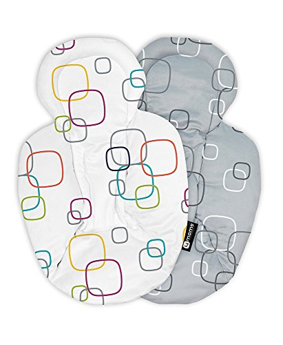 4moms New Reversible and Machine Washable Newborn Insert - Soft, Plush Fabric