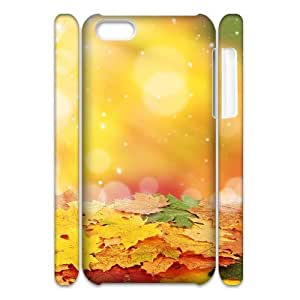 Maple Leaf 3D-Printed ZLB572863 Customized 3D Phone Case for Iphone 5C